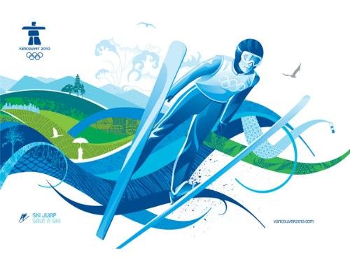 O material de identidade visual das Olimpíadas de Inverno de 2010 vai ficar para história como referência de bom gosto. Vancouver criou uma identidade visual sem frescuras e com um apelo forte, algo que poderia ser muito bem utilizado daqui há alguns anos no Rio de Janeiro.