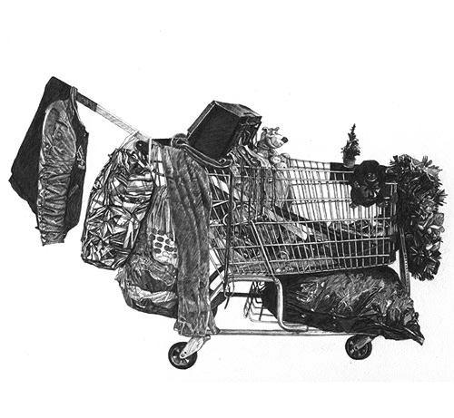Taizo Yamamoto e seus carrinhos de supermercado