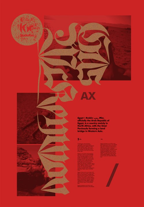 Studio Kxx is a design studio established in 2006 by a Polish graphic designer and illustrator, Krzysztof Domaradzki and his wife, Eliza, who is responsible for project management.