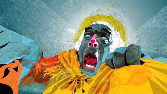 Sou fã do trabalho de ilustração do Alvaro Tapia Hidalgo tem alguns anos e, sempre que posso, publico um pouco das suas ilustrações por aqui. Foi o que aconteceu hoje depois que me deparei com um post antigo dele por aqui. Para você que não conhece o trabalho do Alvaro Tapia Hidalgo, ele trabalha, lá do Chile, com design gráfico, produção de filmes e ilustração de um jeito bem interessante. Você vai entender tudo nas imagens abaixo.