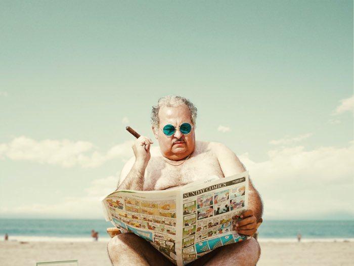 Man of the Beach é uma série fotográfica explorando o maior anti herói do verão e das praias, onde é que você estiver. Esse projeto é em homenagem àquele homem que está mais a vontade de sunga do que você de pijamas. Você sabe exatamente do que eu estou falando.