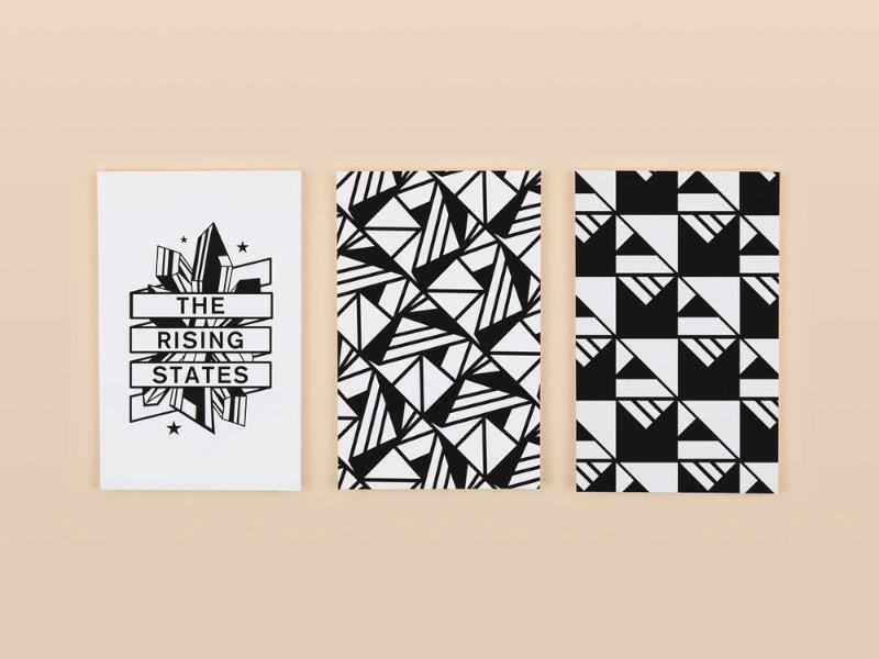 Michael Boswell trabalha com design gráfico e branding lá do Brooklyn, em Nova Iorque. Seu trabalho é bem interessante e mostra uma grande flexibilidade de meios e técnicas.