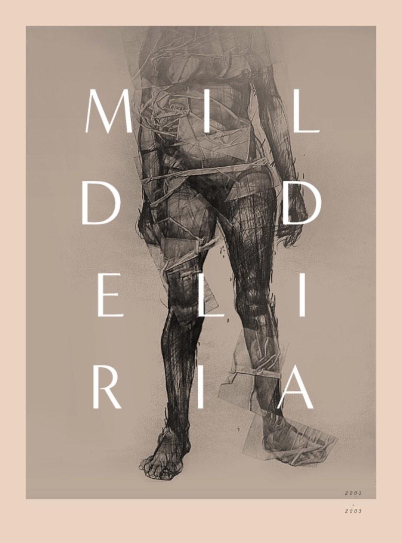 É complicado ler o nome do designer Krzysztof Domaradzki mas se trabalho é fácil de ser apreciado. Principalmente seu lado experimental que trabalha com formas e ilustrações e brinca com estranhas combinações tipográficas.