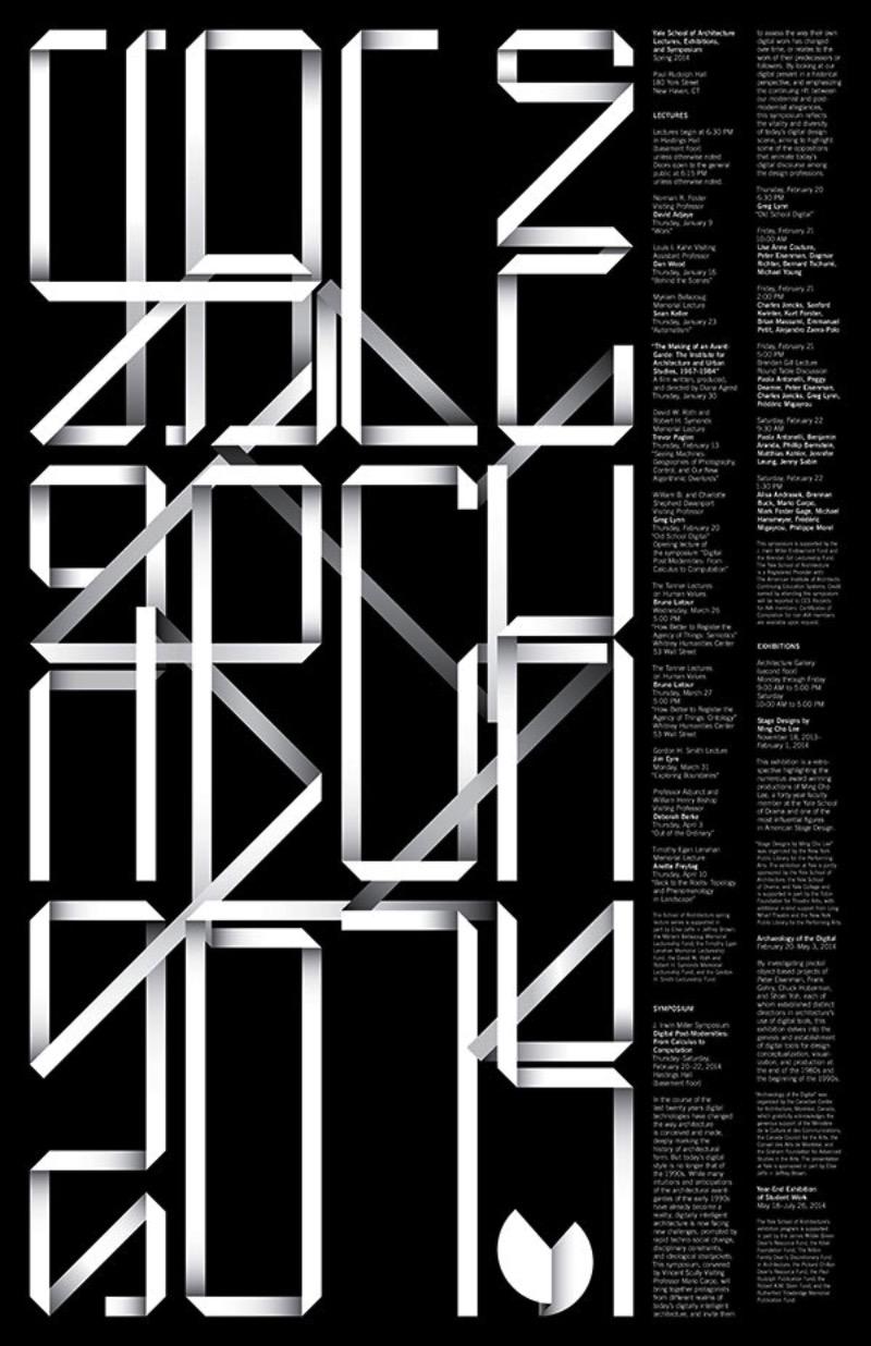 Jessica Svendsen é uma designer gráfica com um portfólio de deixar muita gente com inveja. A forma com a qual ela trabalha com tipografia é fora do comum e é por isso mesmo que, a cada vez que publico seu portfólio aqui, fico mais surpreso com o que vejo.