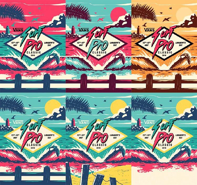Ian Jepson é um ilustrador e designer gráfico lá da Cidade do Cabo, na África do Sul. Ele passou cerca de cinco anos trabalhando no mercado do design até que resolveu seguir sua carreira de freelancer. Isso aconteceu em 2013 e mudou sua vida para sempre. Hoje em dia, ele trabalha direto do seu home office com foco em posters, tipografia e pizzza, algo que eu consigo me imaginar fazendo facilmente.