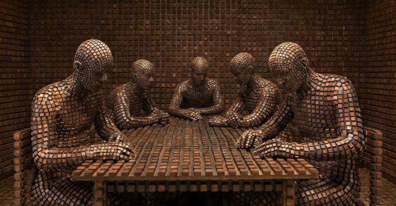 Desde muito jovem, o artista Levi Van Veluw é fascinado pelas coisas que vivem melhor no teoricamente possível mas que são bem difíceis de imaginar. Um mundo de fantasia onde as leis da natureza são diferentes daquelas que vemos ao nosso redor e onde as leis da física são outras. É isso que vive passando pela mente desse artista que, há cerca de dez anos, se encontrou apaixonado pelas obras de ficção científica de mestres como Isaac Asimov e Aldous Huxley.