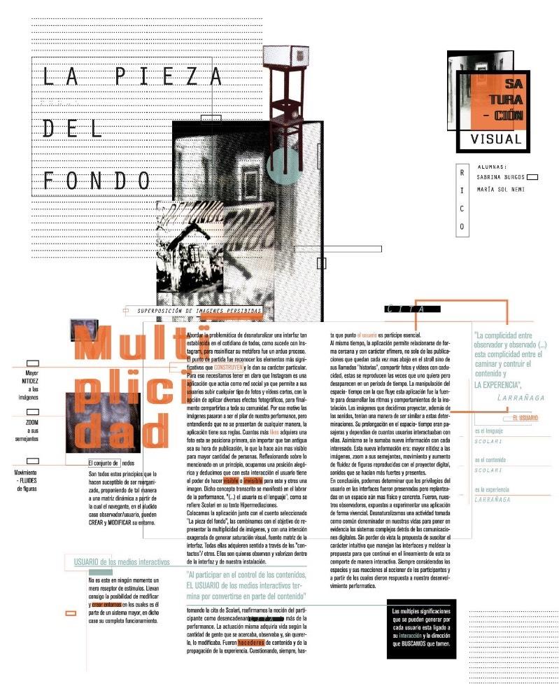 Sabrina Burgos é uma estudante de design gráfico da Argentina que estudou na FADU - UBA em Buenos Aires. No seu perfil no Behance, você vai conseguir encontra alguns dos vários projetos que ela fez durante seus anos de estudo e muitos desses trabalhos são tão interessantes que fui obrigado a publicar por aqui.