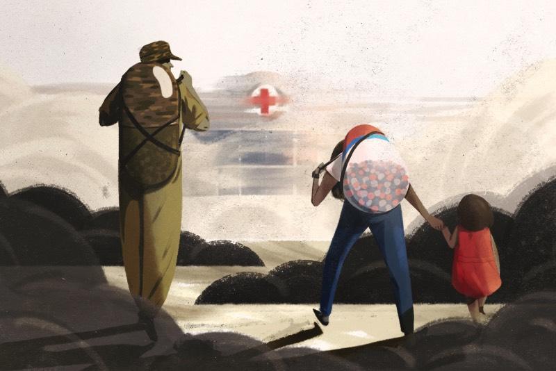 Jacob Myrick é um animador e ilustrador americano cujo trabalho é voltado para criar momentos repletos de personagens estranhos que explorem conceitos e contem histórias. É isso que ele faz com sua ilustração e foi isso mesmo que chamou minha atenção quando me deparei com seu portfólio hoje cedo.
