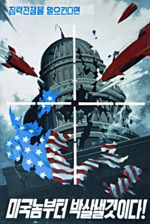 """""""When provoking a war of aggression, we will hit back, beginning with the US!"""""""