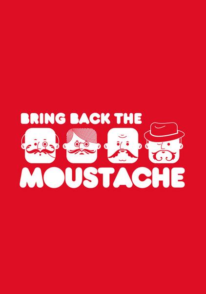 Bring back the moustache
