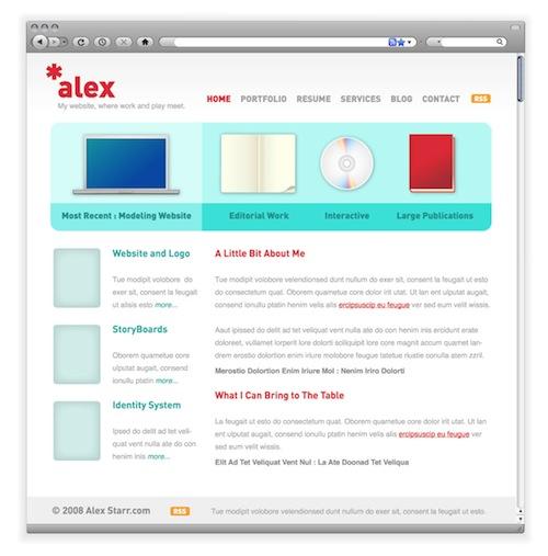 Usando o Illustrator para criar layouts para a web