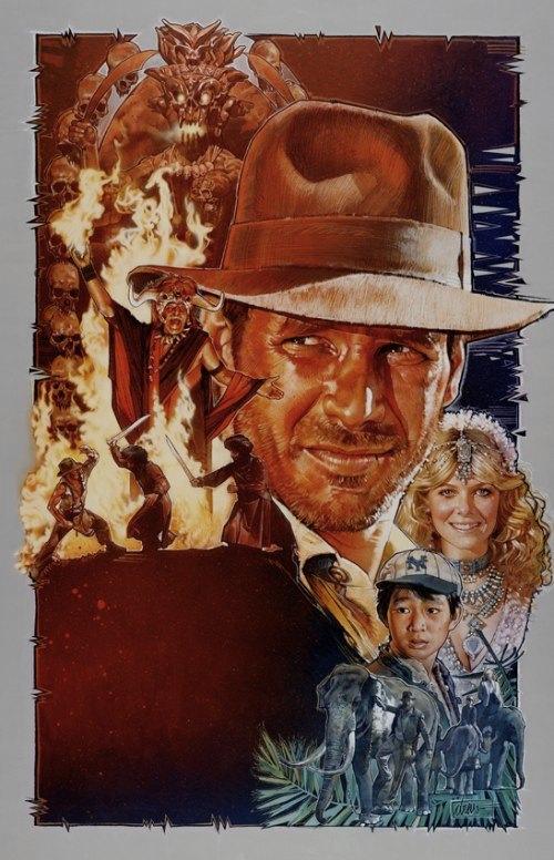 Drew Struzan e posters de filmes dos anos 80