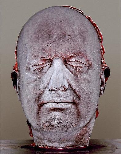 auto retrato em sangue de marc quinn