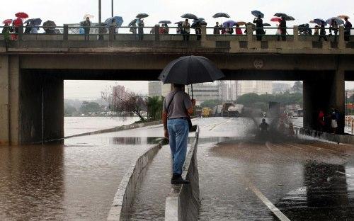 São Paulo, Cidade Submersa