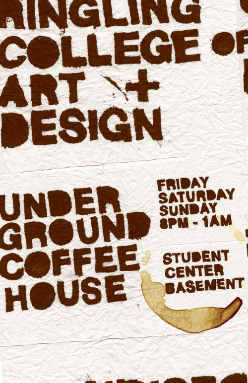 Underground Coffeehouse Posters