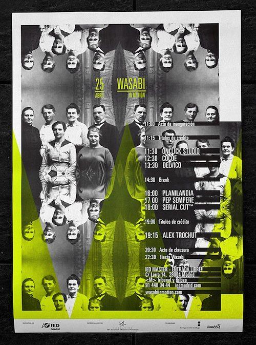 O Estudio Ritxi Ostáriz é especializado em design gráfico e editorial e direção de arte. A maioria dos projetos que eles fazem estão relacionados a indústria musical, seja ela relacionada a capas de discos ou posters para shows.
