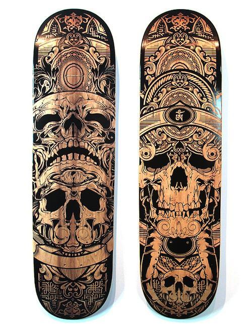 Os Decks de Skate de Hydro74