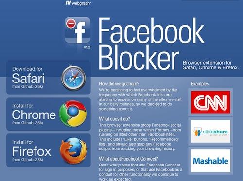 Bloqueando o Facebook