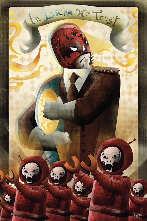 Dystopia é uma visão de um futuro onde a sociedade degradou para um estado repressivo e controlado, tudo com finalidades quase utópicas.Foi pensando nisso que a Ventilate convidou alguns artistas a criar uma série de posters com a sua interpretação desse tema.Derek Stenning,Alberto Russo,Jimmy Turrell,Onur Senturk,Diego Lopez são os artistas que fizeram essa série abaixo.
