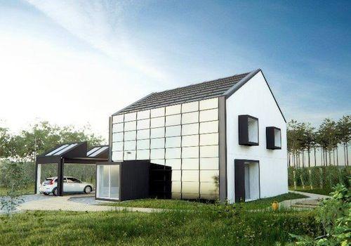 One Tonne Life é uma iniciativa da Volvo em parceria com a construtora de casas de madeira A-hus e a companhia de energia Vattenfall