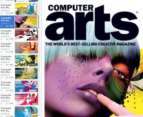 computer arts_ 2003 - 2005