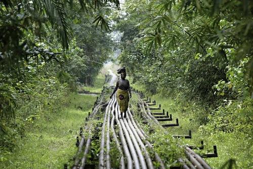 George Osodi é um fotógrafo nigeriano que retrata muito bem a realidade daquele pais. É até um pouco estranho observar suas fotos e seu portfólio e perceber que nunca vimos aquilo antes, apesar de tudo.