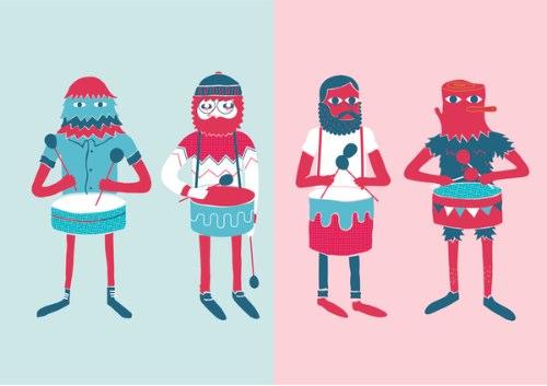 Jose Miguel Méndez é um ilustrador espanhol baseado em Barcelona cujo trabalho é caracterizado pelo uso de cores fortes, formas geométricas e pela forma com a qual ele usa do contraste para contar suas histórias visuais.