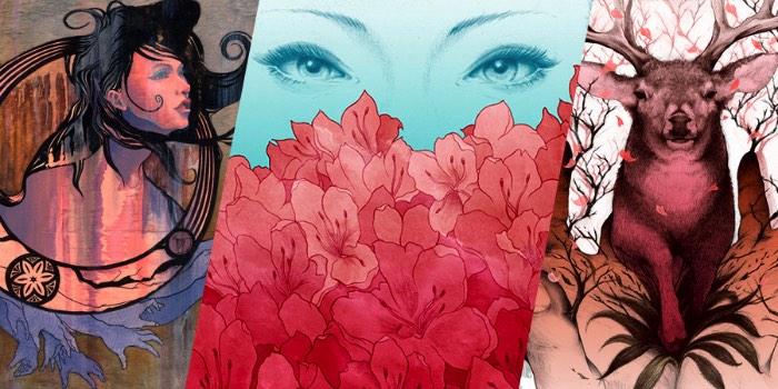 Yuta Onoda é um ilustrador e pintor baseado em Toronto, no Canadá. Originalmente do Japão, seu trabalho evoluiu nos últimos anos através da criação de inúmeros projetos para diversos clientes. Além de, claro, galerias de arte. Seu trabalho é repleto de animais e seres humanos que se conectam de formas diferentes e que fazem isso para enfatizar a conexão que temos entre nós e como estamos nos distanciando da natureza cada vez mais.