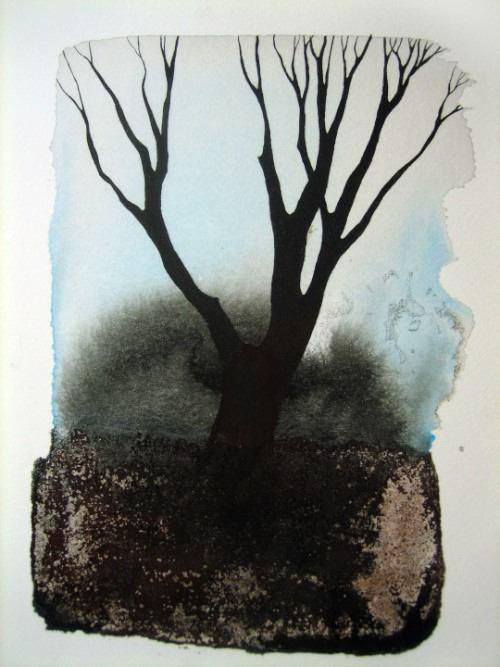 Pablo S. Herrero é o nome do artista responsável pelas árvores aquareladas desse post. Uma das coisas que mais me chamou a atenção nas imagens que ele cria é o contraste entre a estrutura da árvore bem definida contra todo o caos do papel molhada de tinta.