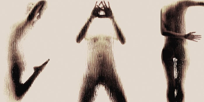 Naked Silhouette Alphabet, que pode ser traduzido como o alfabeto de silhuetas nuas, é um projeto que mistura tipografia e fotografia e foi criado pela designer grega Anastasia Mastrakouli.