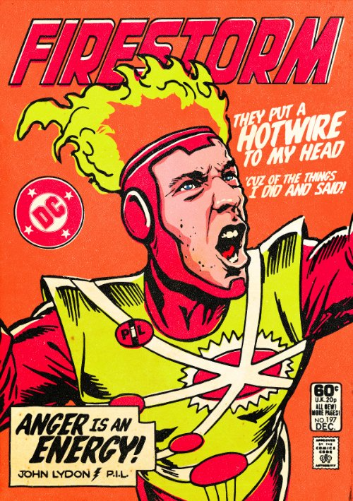 The Post-Punk : New Wave Super Friends by Butcher Billy_04