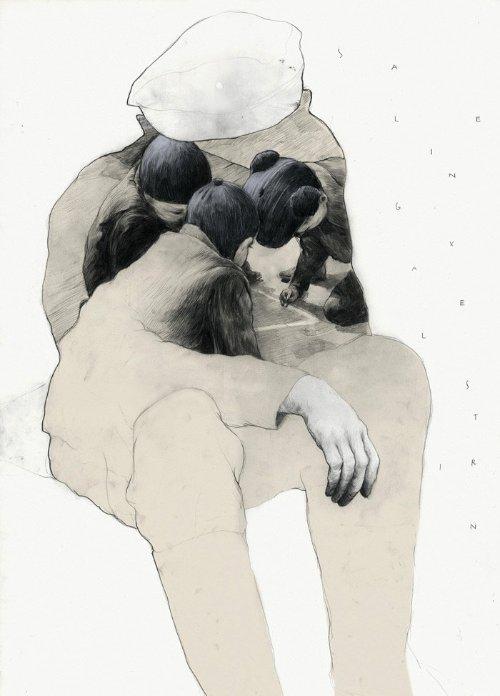 Simón Prades nasceu em 1985 e mora em Saarbrücken, na Alemanha. Ele estudou design gráfico e desde sua graduação, trabalha como ilustrador freelancer para o mercado editorial e publicitário enquanto dá aulas na Universität Trier.