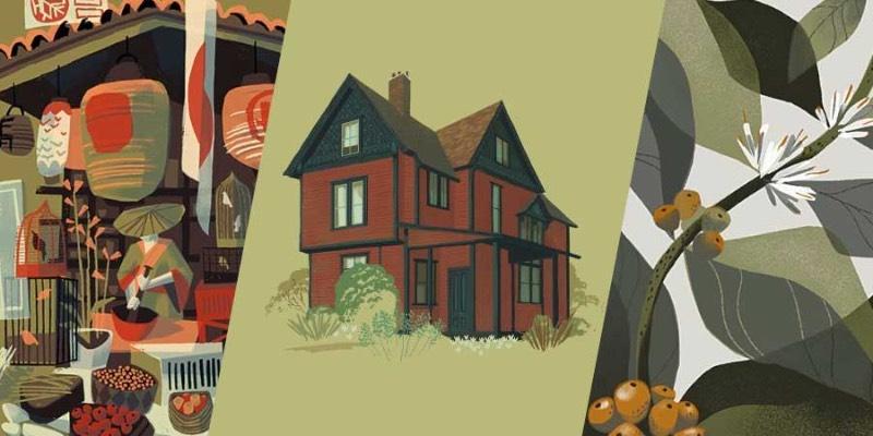 Chris Turnham é um ilustrador baseado em Los Angeles que passou grande parte da sua carreira trabalhando com animação para televisão e contribuindo com seus desenhos para revistas e livros para crianças. Tudo isso porque suas ilustrações tem uma estética retrô que lembram muito os desenhos animados da metade do século passado e, por isso mesmo, acabei gostando dessas imagens muito mais do que eu esperava.