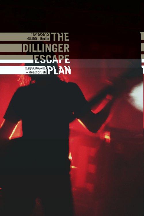 the Dillinger Escape Plan live aus Berlin by Felipe Tofani on Behance