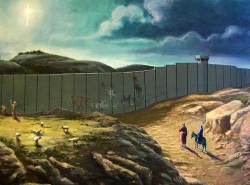 Banksy's Christmas card