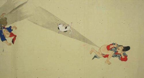 Nunca imaginei que iria escrever sobre gravuras antigas e flatulências, essa era a forma com a qual meu avô falava sobre peidos, mas é isso que estou fazendo agora. Se você observar as imagens nesse post vai perceber que o Japão é o melhor país do mundo já que, enquanto o resto do mundo criava arte religiosa, o Japão ilustrava competições de peido. Sério.