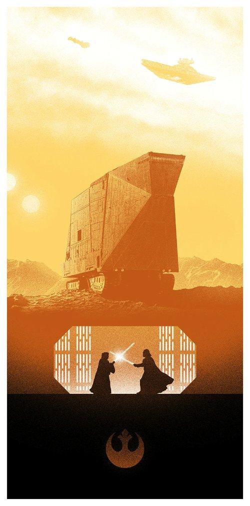 Marko Manev e seus Posters para Trilogia Original de Star Wars
