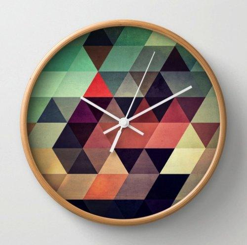 tryypyzoyd Wall Clock by Spires | Society6