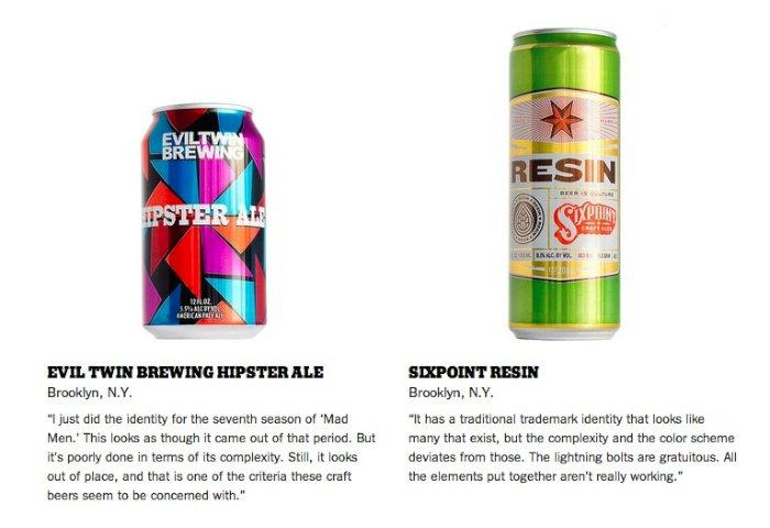 Milton Glaser Critica Embalagens de Cerveja 02