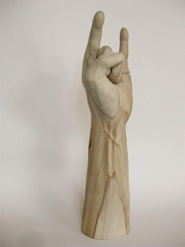 Esculturas de Madeira com um toque de modernidade