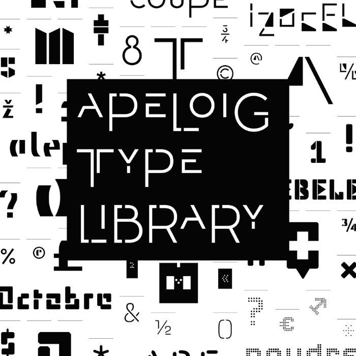 Apeloig Type Library   Typeface Review   Typographica