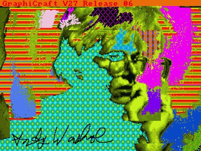 A Arte em Disquetes de Andy Warhol 00