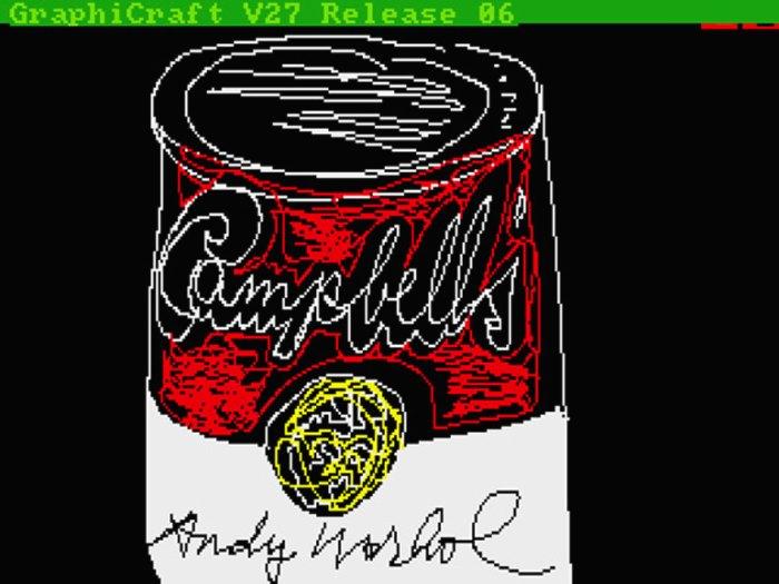 A Arte em Disquetes de Andy Warhol 01