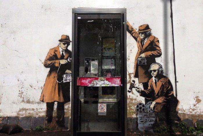 Banksy Mural Cheltenham 00