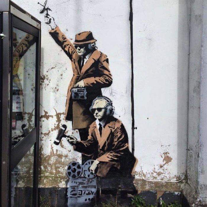 Banksy Mural Cheltenham 01