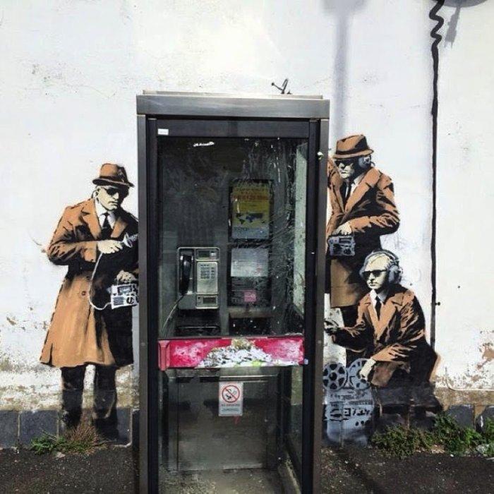 Banksy Mural Cheltenham 02