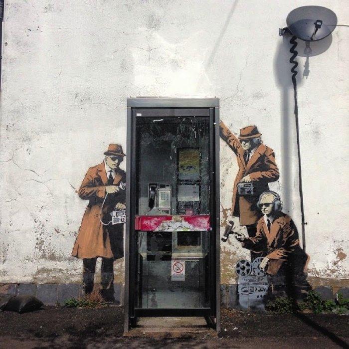 Banksy Mural Cheltenham 03