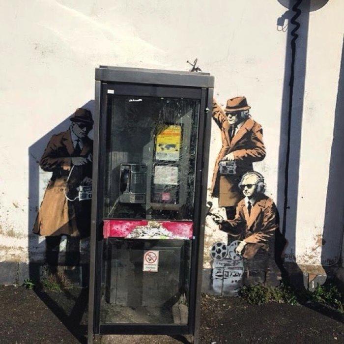 Banksy Mural Cheltenham 04