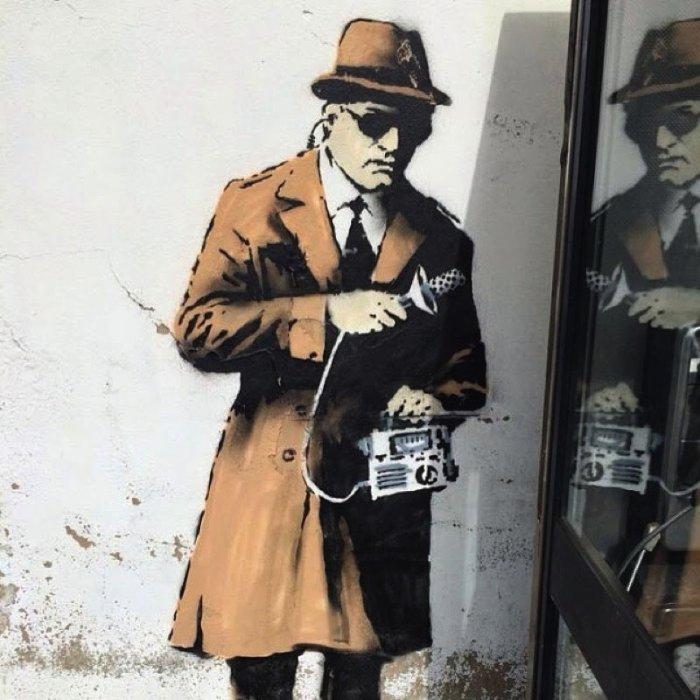 Banksy Mural Cheltenham 05