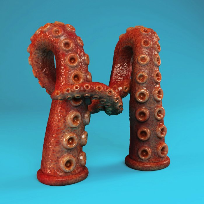 The Sculpted Alphabet 05